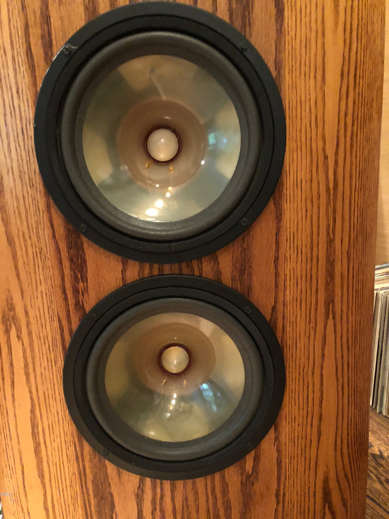 Infinity Reference Standard RS II-B Vintage Ribbon Speakers with LF EQ, Near Perfect