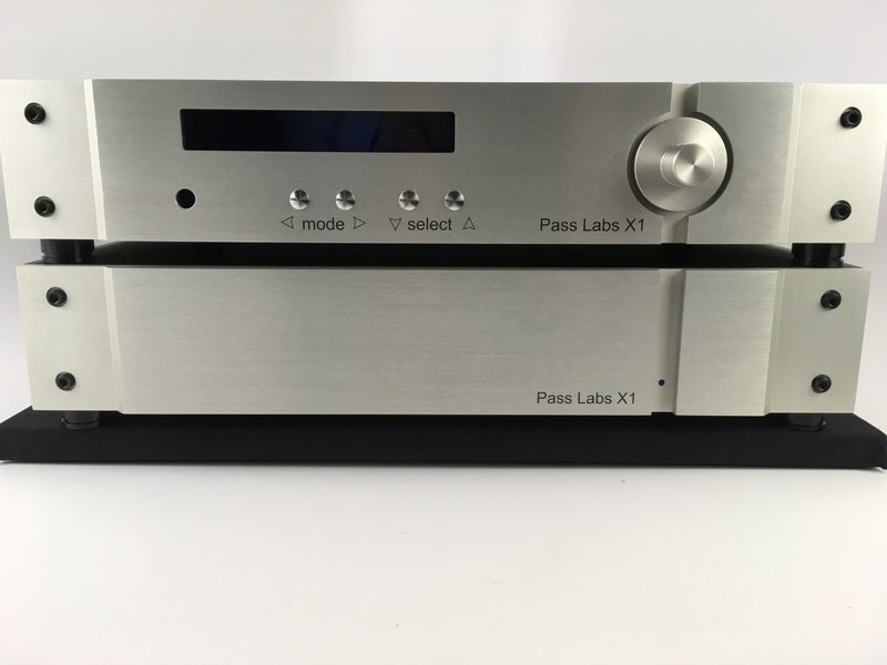 Pass Labs X-1 Two Piece Preamp