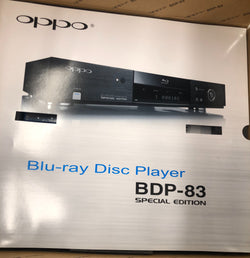 Oppo BDP-83 SE (Special Edition) BRAND NEW SACD Blu-Ray Player - Last Of The Best - 120/240V