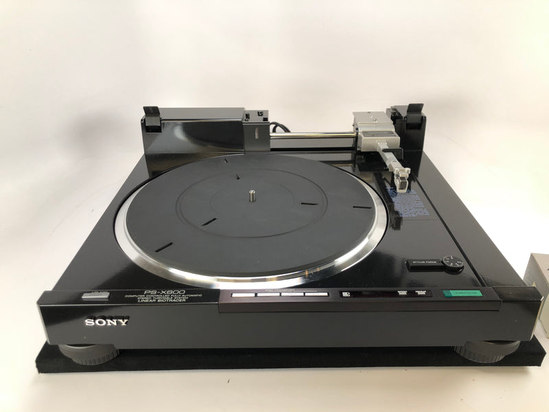 Sony PS-X800 Linear Tracking Turntable - Like New In Box!