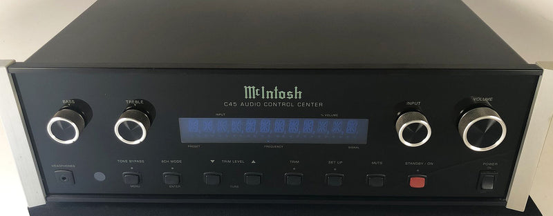McIntosh C45 Preamp - all Analog with Phono Input