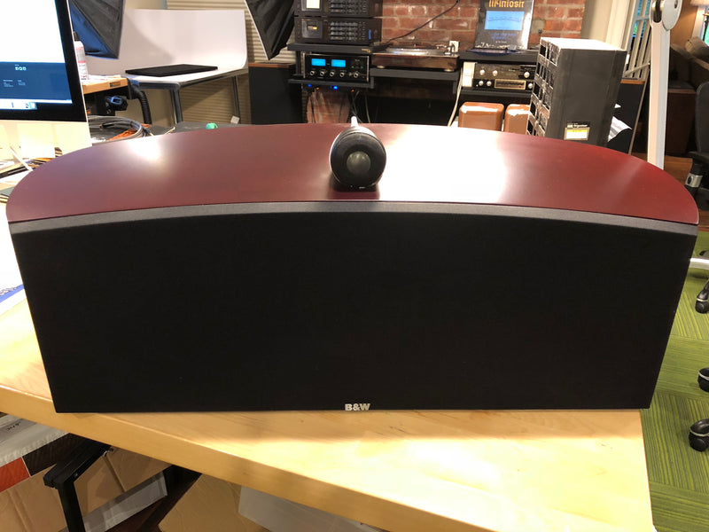 B&W (Bowers & Wilkins) Nautilus HTM-1 Center Theater Speaker,  Mint in Box