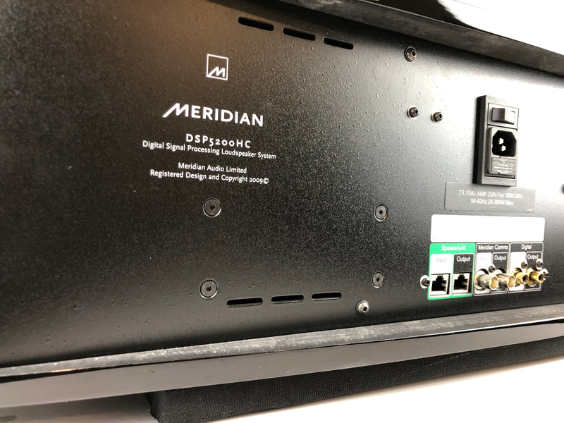 Meridian Special Edition DSP5200HC Digital Active Center Channel Speaker in Original Box