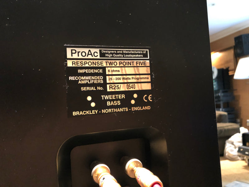 ProAc Response Two Point Five (2.5) Speakers - Boxed