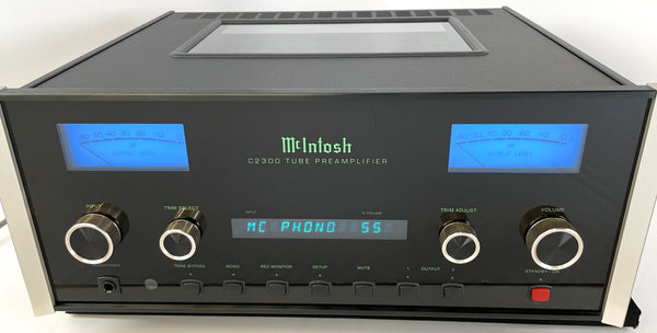 McIntosh C2300 All Tube All Analog Preamplifier With Extras