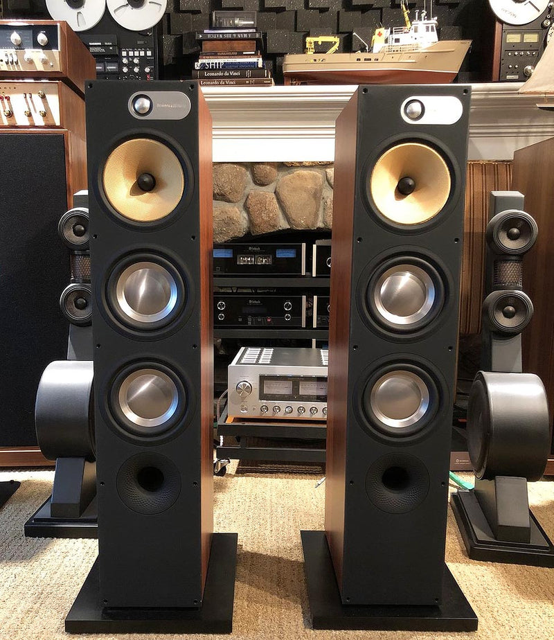B&W (Bowers and Wilkins) 600 Series - 683 Floorstanding Three-Way Speakers
