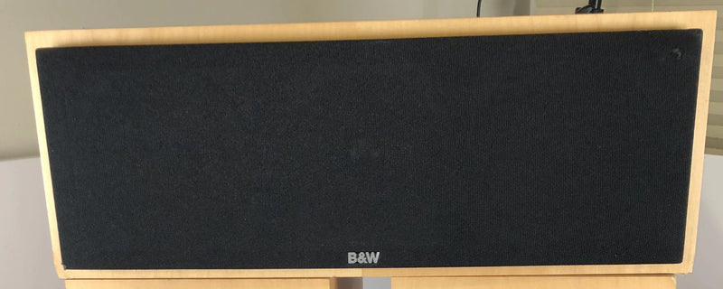 B&W (Bowers and Wilkins) CMC Center Channel Speaker