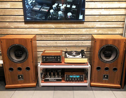 Vintage McIntosh + Garrard Turntable + Altec Lansing Speakers