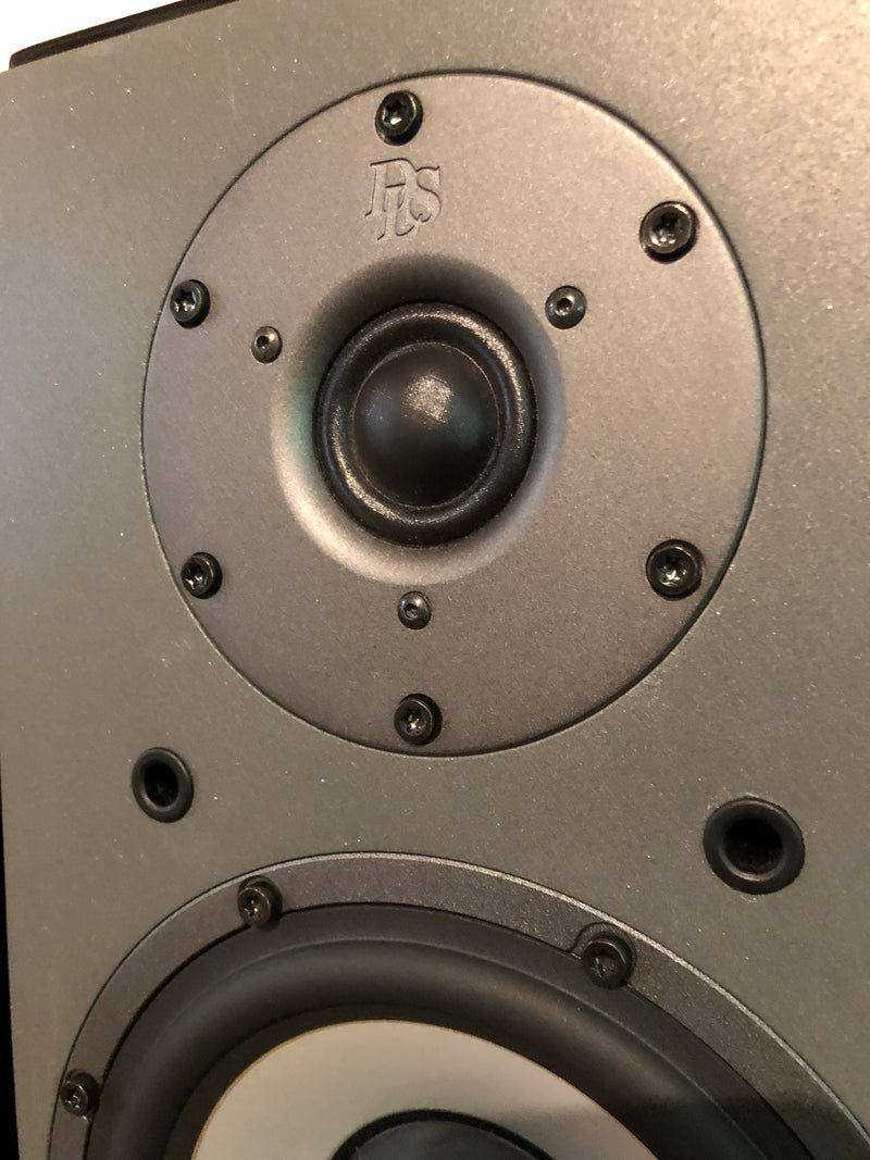 DLS M66 Full Range Speakers in Gloss Black, Rare