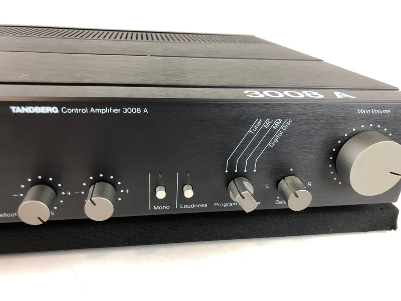 Tandberg TCA-3008A Solid State Preamplifier with Phono, 120/220V, Made in Norway