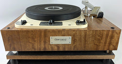 Garrard 301 Vintage Turntable with Gray Research 108 Tonearm - Gorgeous!