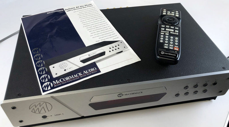 McCormack UDP-1 SACD/CD Player - Burr-Brown DAC's - Complete With Remote, Box, and Manual
