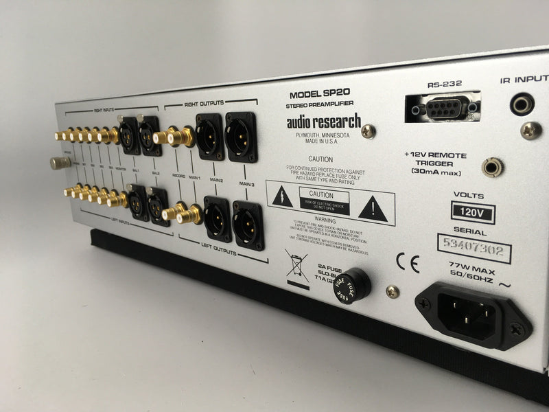 Audio Research SP-20 Tube Preamp with Phono Section