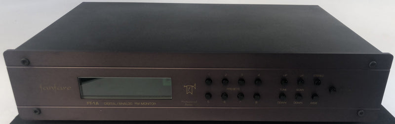 Fanfare FT-1A Digital/Analog FM Tuner with Remote - Stereophile Class A Rated Component
