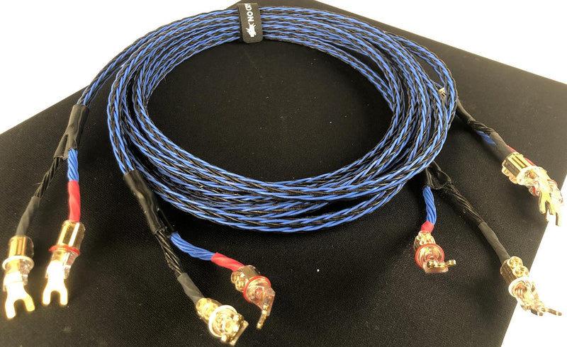 Kimber Kable 8TC Series Speaker Cables with WBT Connectors - 10'