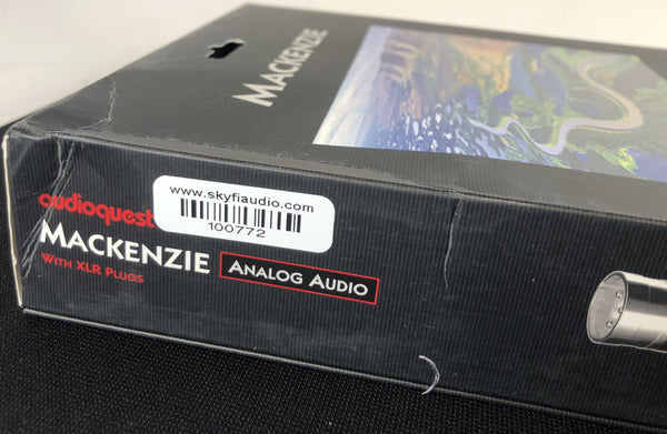 Audioquest McKenzie 2m XLR, New in Box