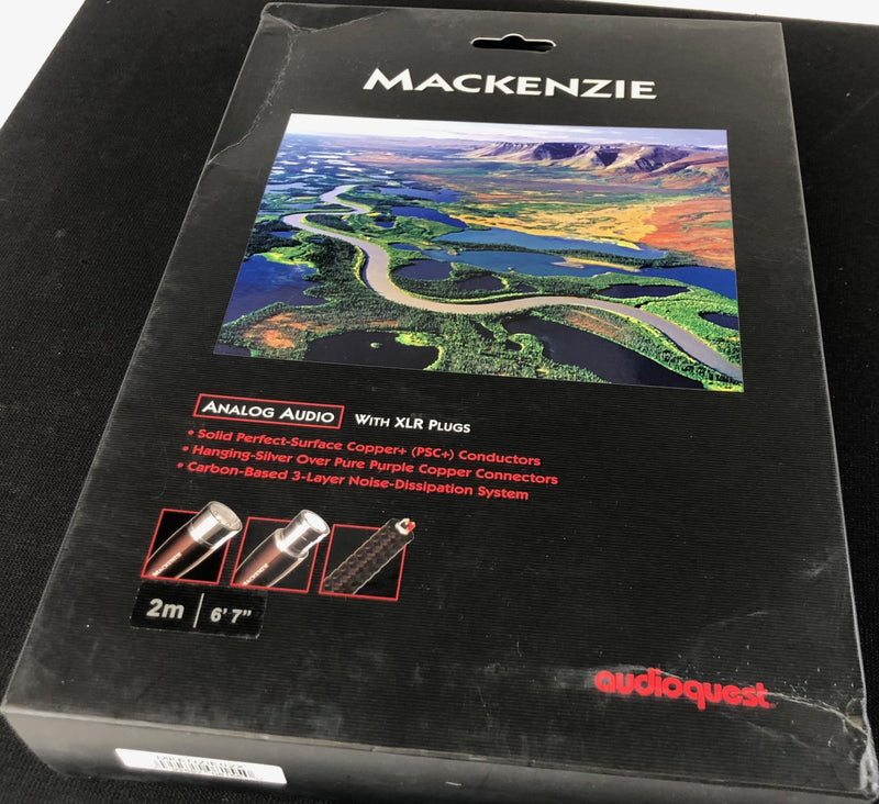 AudioQuest River Series Mackenzie XLR - New in Box - 2M