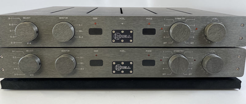 Krell KBL DUAL MONO Preamp Stack with Dual Power Supplies
