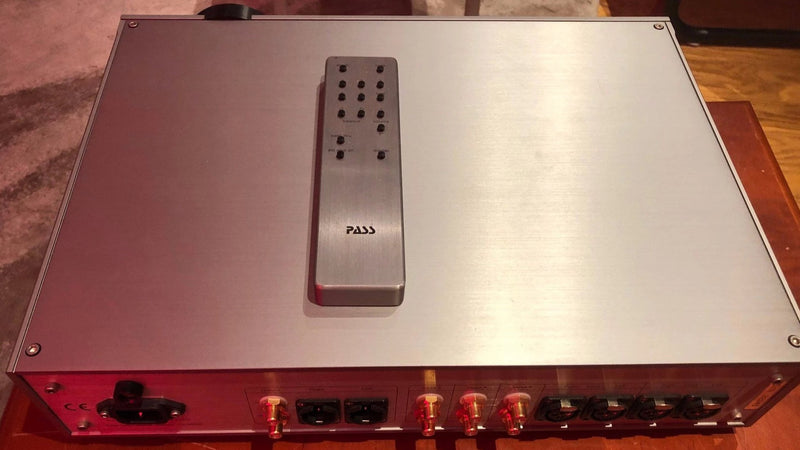 Pass Labs XP-10 Line Level Preamp with Remote - Like New and Complete
