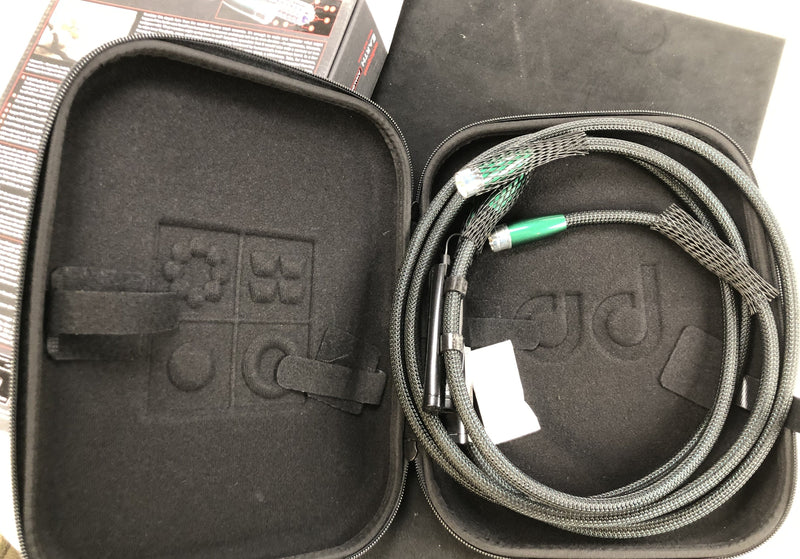 AudioQuest Elements Series -  Earth XLR Cable with 72V DBS - NEW IN BOX - 5'
