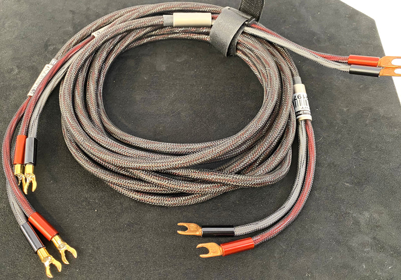 Zu Audio Mission MKII Loudspeaker Cable Pair - 10'