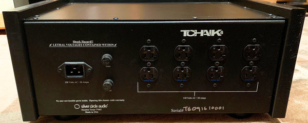 "Silver Circle Audio ""TCHAIK 6"" Power Conditioner - Highly Reviewed"