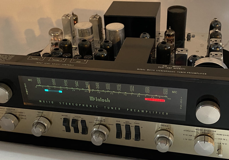 McIntosh MX110 Tube Preamp Tuner - Restored