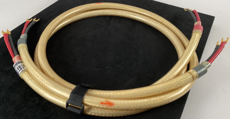 Straight Wire Maestro Vintage Speaker Cable, 5' Pair