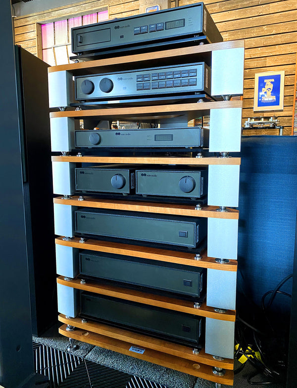 Naim Audio FRAIM System Rack - 7 Shelves in a Cherry Finish