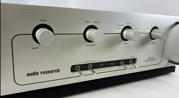 Audio Research SP-8 All Tube Analogue Preamp with Phono Stage.