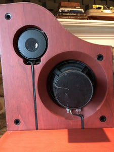 Alon Lotus Elite Speakers, Restored and Super Rare
