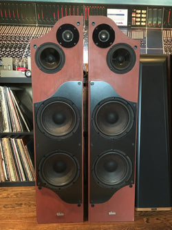 Alon Lotus Elite Speakers, Restored and Super Rare, Cherry