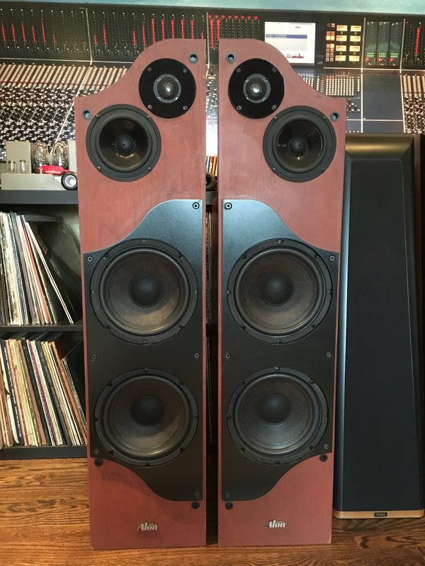 Alon Lotus Elite Speakers - Restored and Super Rare - Cherry