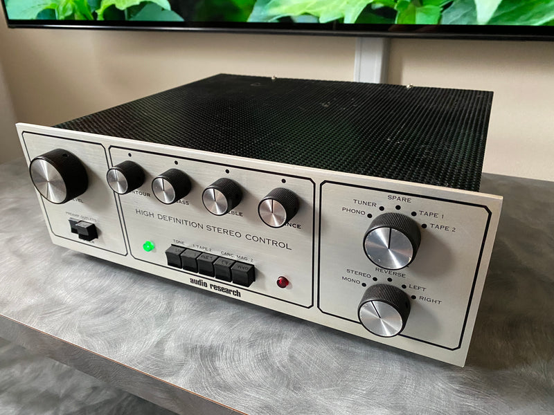 Audio Research SP-3 Vintage All Tube Preamplifier - Complete Collector Grade Restoration
