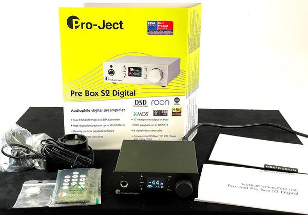 Pro-Ject Pre Box S2 Digital - Digital Micro Preamplifier/DAC With MQA and DSD512