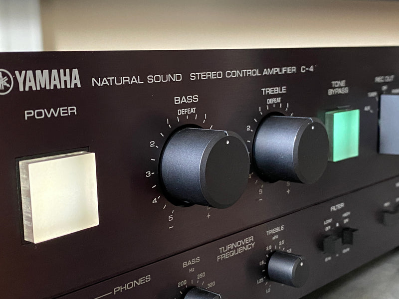 Yamaha C-4 Preamplifier - Serviced and Upgraded - Vinyl Lovers Dream Phono Preamp