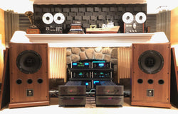 Altec Lansing 604-8G Vintage Speakers in Custom Fine Furniture Grade Cabinets