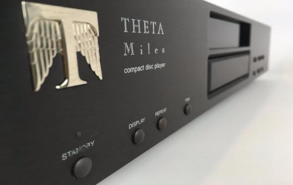 Theta Miles CD Player with Inverted Platter System