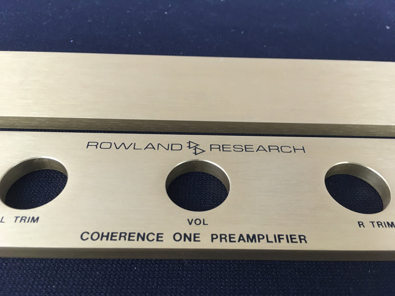 Jeff Rowland Coherence One Preamp
