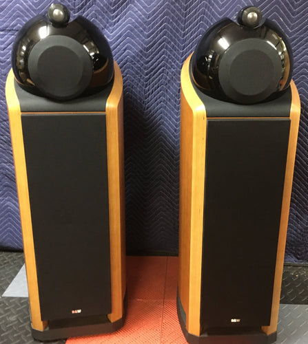B&W (Bowers & Wilkins) Nautilus 802 Full Range Speakers, Near Mint