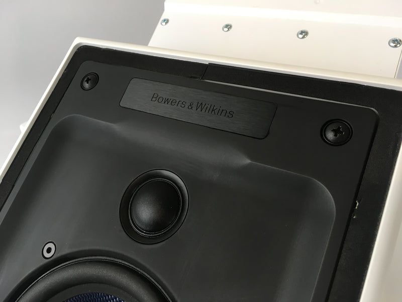 B&W (Bowers & Wilkins) CWM7.5 In-Wall Speakers - Kevlar Drivers With Bass Cavity