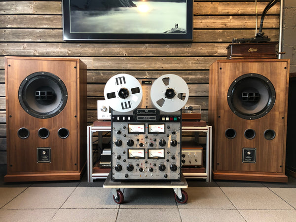 Crown CX844 Reel to Reel - Meticulously Restored With Road Case And Matching D-40 Amplifier