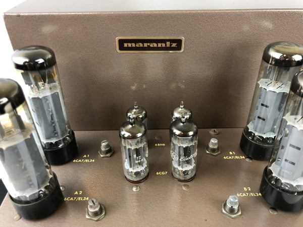 Marantz Model 8B Stereo Tube Amplifier, Highly Collectible (A)