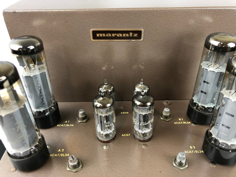Marantz Model 8B Stereo Tube Amplifier - Highly Collectible (A)