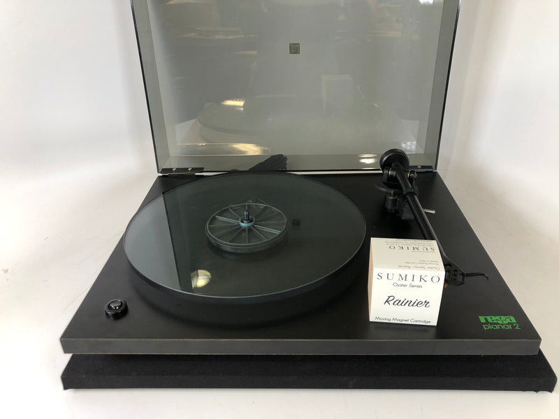 Rega Planar 2 (P2) Vintage Turntable with New Sumiko Cartridge
