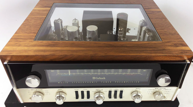 McIntosh MX110 Tuner Preamp - All Tube with Custom Cabinet