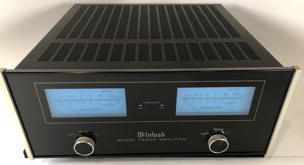 McIntosh MC300 Solid State Stereo Amplifier, 300W!