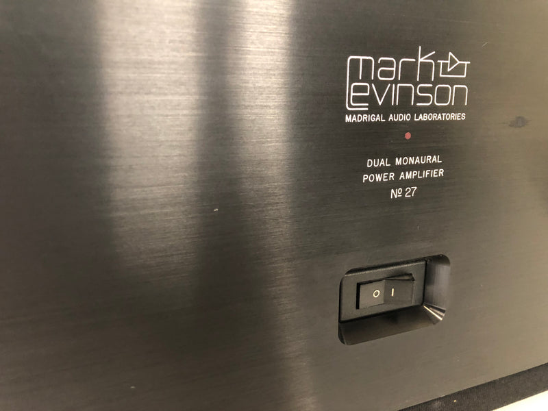 Mark Levinson No.27 Class AB Solid State Amplifier, Freshly Serviced