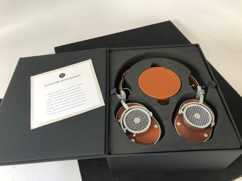 Master & Dynamic MH40 Headphones in Fine Leather - New