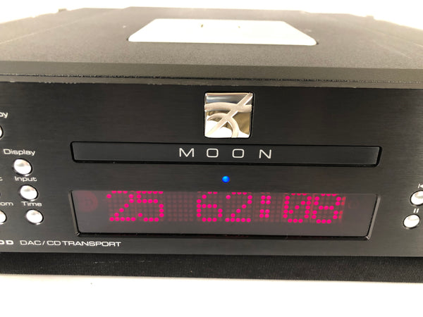 Simaudio Moon Evolution 650D DAC and CD Transport